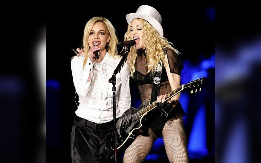 Madonna ir Britney Spears