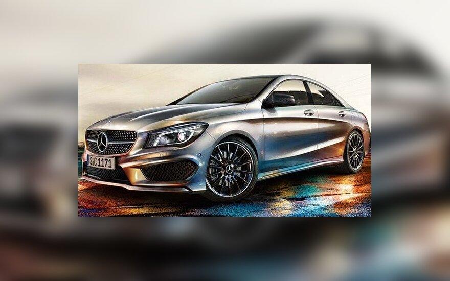 Mercedes-Benz CLA 250 Sport. mbforumas nuotr.