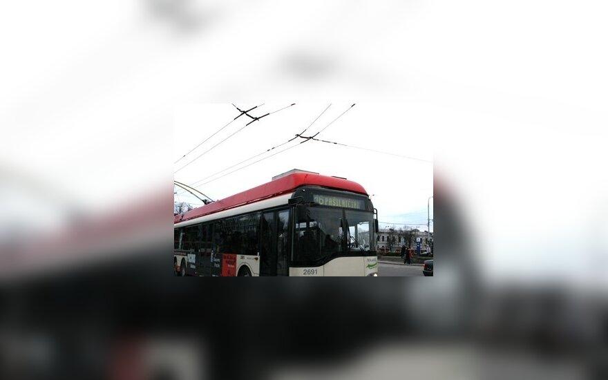 Vilniuje savaitgalį viešasis transportas važiuos kaip sekmadienį