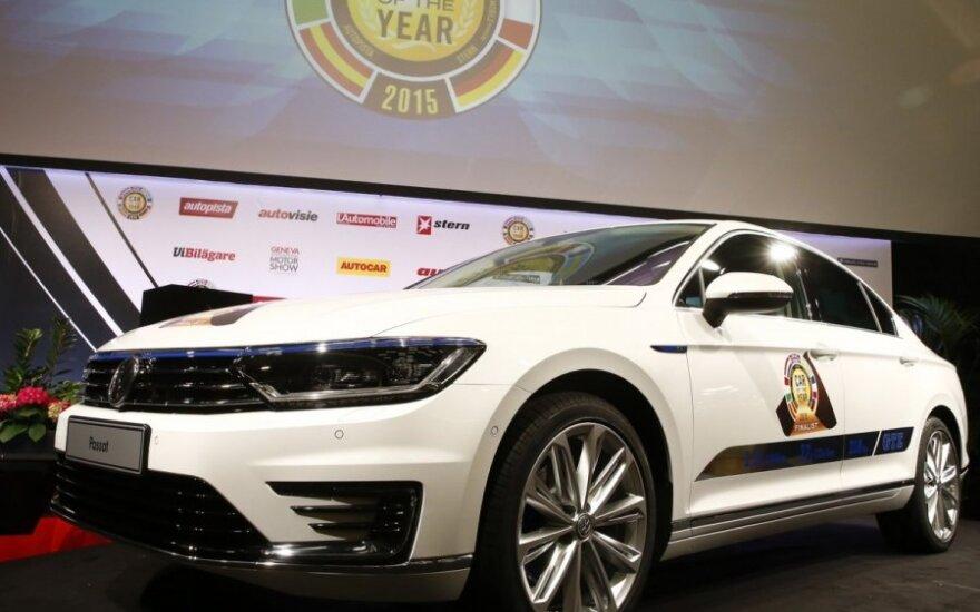 """Europos """"Metų automobilio 2015"""" rinkimų nugalėtoju tapo """"Volkswagen Passat"""""""