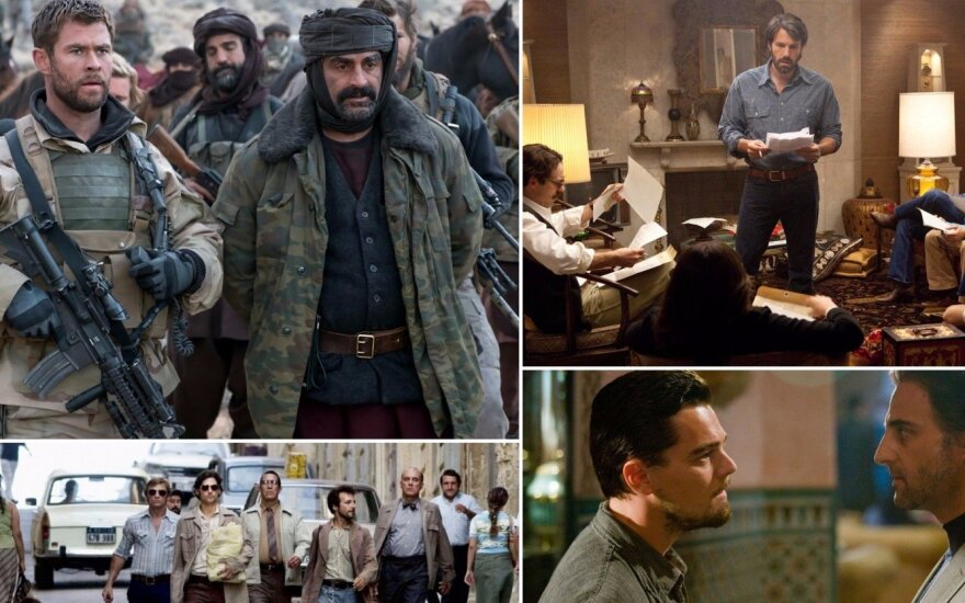Kadrai iš filmų apie terorizmą