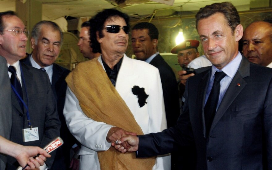 Prancūzijoje sulaikytas buvęs prezidentas Nicolas Sarkozy