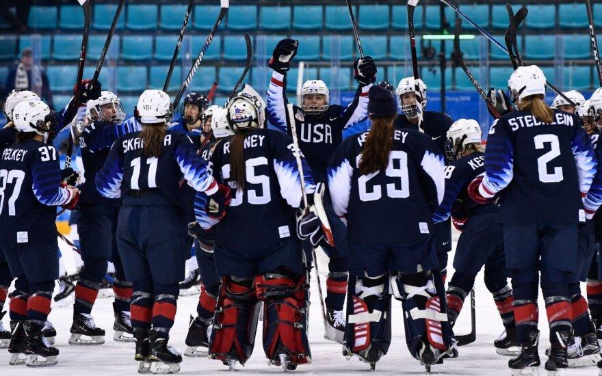 JAV moterų ledo ritulio rinktinė