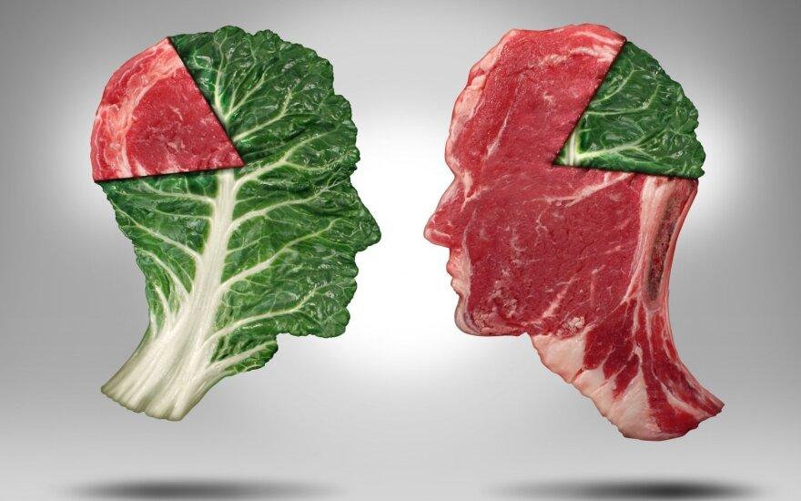 Veganai ir mėsėdžiai