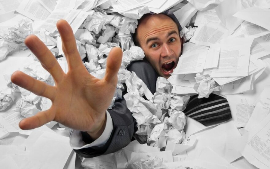 Verslininkams gyvenimą palengvins atsisakydami dokumentų