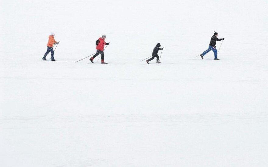 Savaitgalį Ignalinoje vyks slidinėjimo maratonas