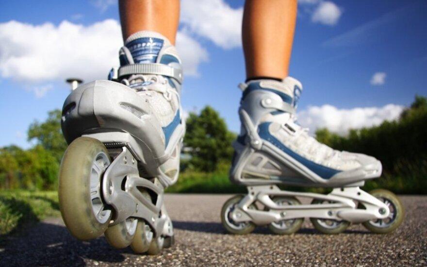 Biatlonininkas: norintys gražesnės figūros turėtų apsiauti riedučius