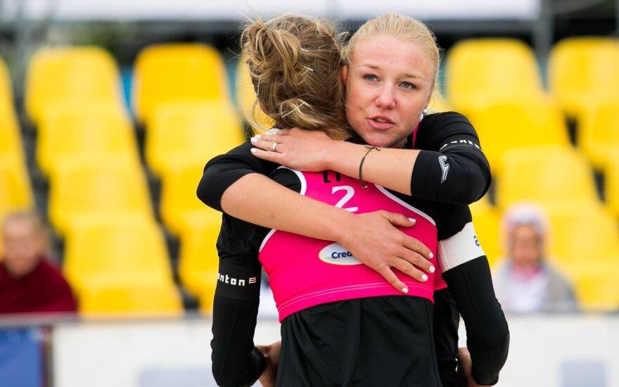 Ieva Dumbauskaitė ir Monika Povilaitytė žaidžia Vilniuje