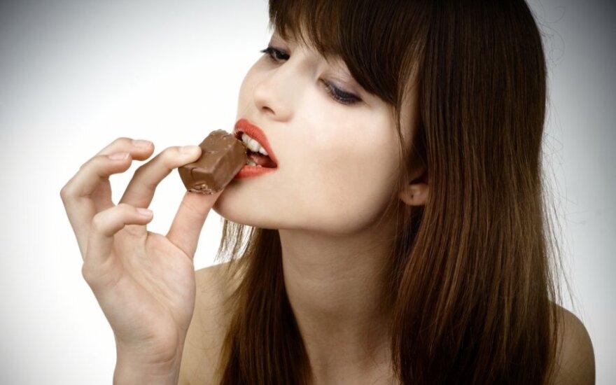 Valgo šokoladą