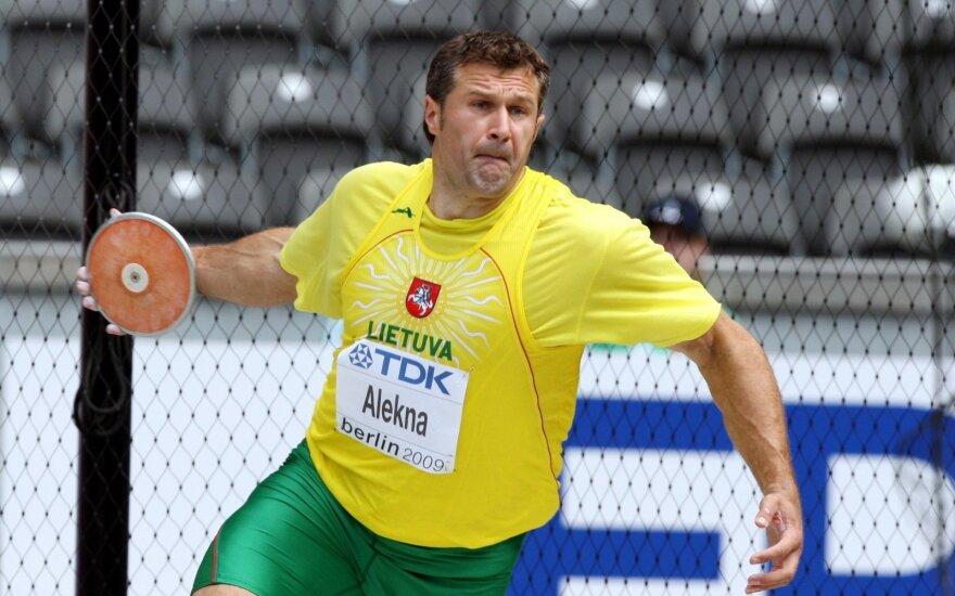 Decorated Lithuanian champion Virgilijus Alekna