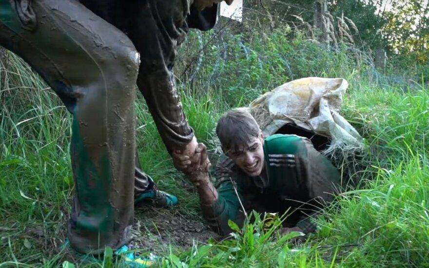 """Žalgiriečiai įveikė """"Vilko taką"""" (Stopkadras)"""