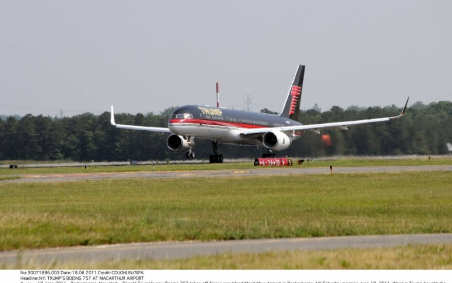 "Donaldo Trumpo privatus lėktuvas ""Boeing 757"""
