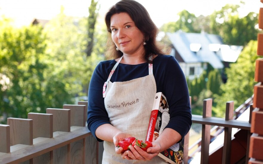 R. Ničajienė: sveikas maistas – tai ilgalaikė investicija į save