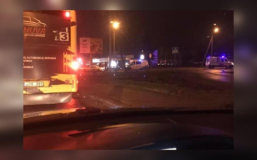 Panevėžyje automobiliu mirtinai partrenkta pėsčiųjų perėja ėjusi moteris