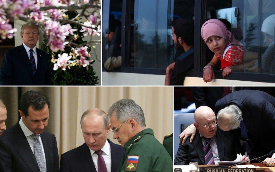 Pasaulis užgniaužęs kvapą dėl Sirijos: blogiausias scenarijus gali paliesti ir Baltijos regioną
