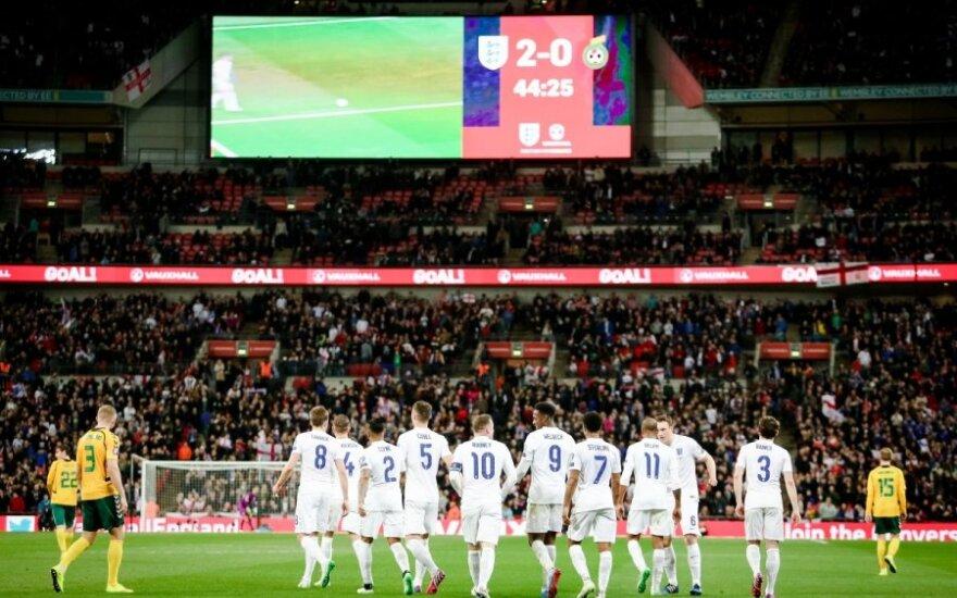 """Pirmoji viešnagė """"Wembley"""" stadione lietuviams buvo skaudi"""