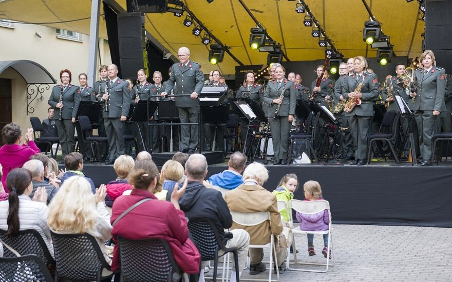 "The Netherlands Royal Military Orchestra ""Johan Willem Friso"" Photo © Ludo Segers @ The Lithuania Tribune"