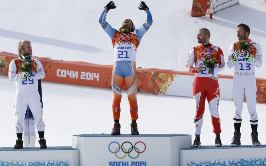 Kjetilas Jansrudas tapo olimpiniu čempionu