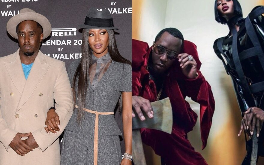 Diddy, Naomi Campbell