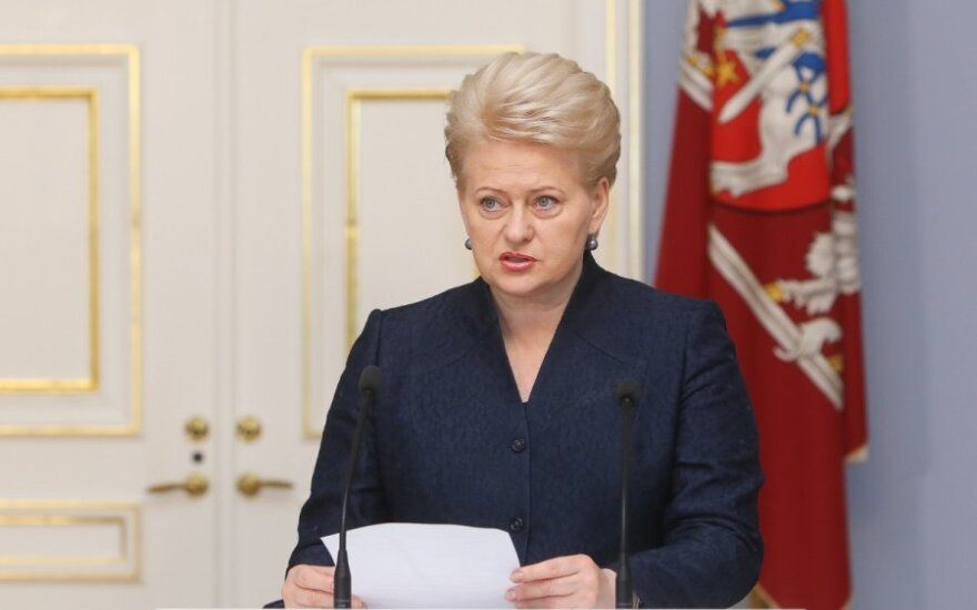 President Grybauskaitė: Euro introduction will curb financial populism