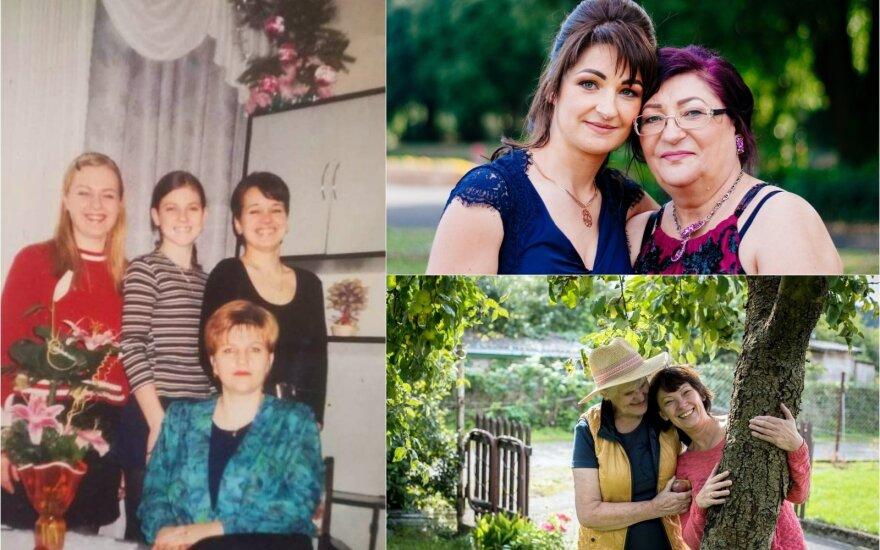 """Gal šiose nuotraukose išvysite ir save: konkurso """"Myliu mamą"""" dalyviai sveikina mamas"""