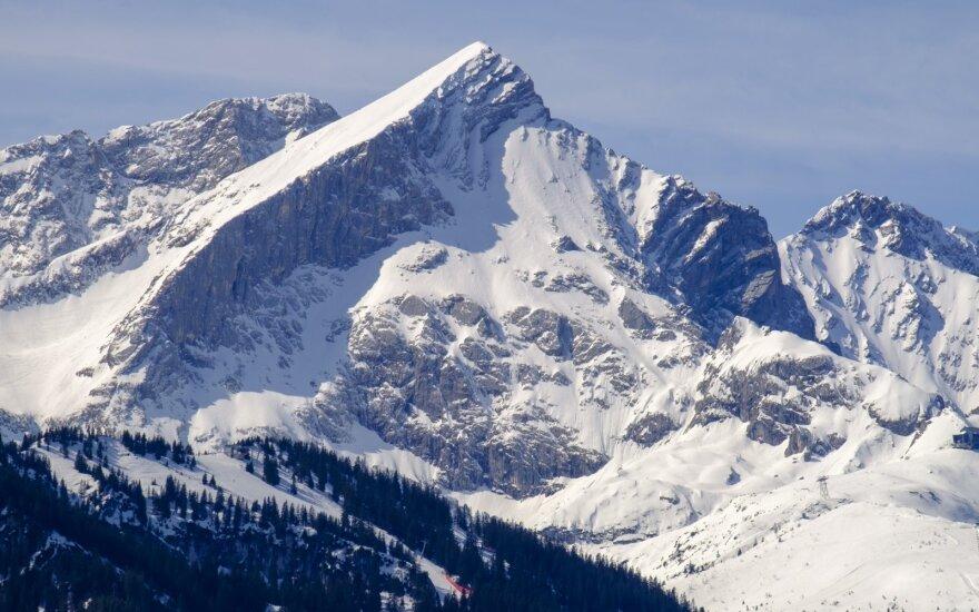 Vokietijos Alpėse po 10 metų nebeliks ledynų