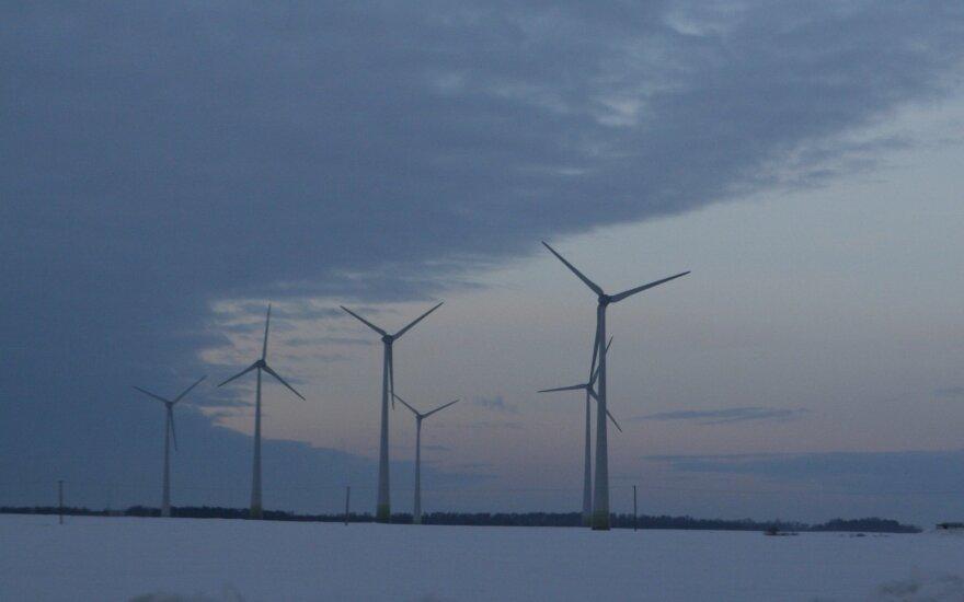 Vyriausybėje - nauja vėjo jėgainių jūroje statybos tvarka