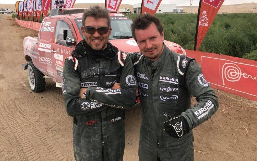 Darius Vaičiulis (kairėje) ir Antanas Juknevičius