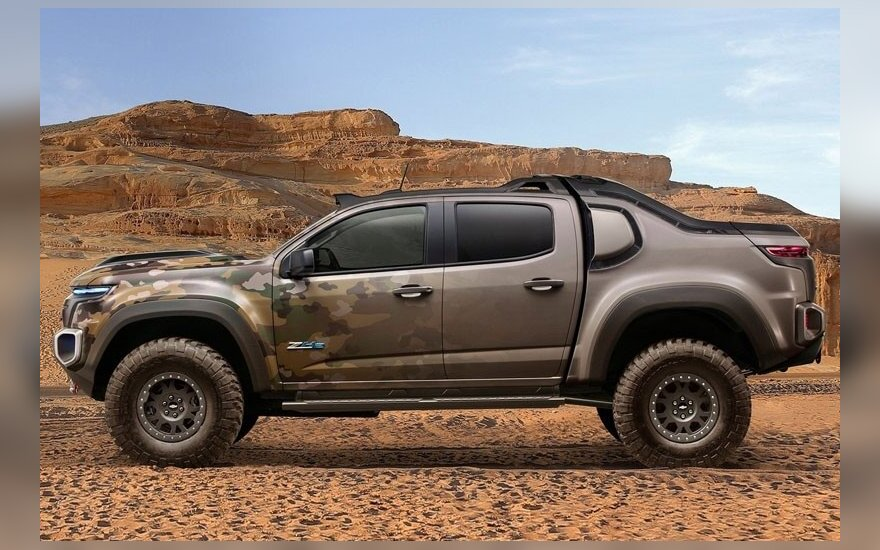 """Chevrolet Colorado ZH2"""