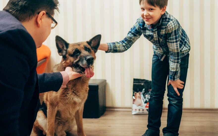 Vilniečių šeima: visi protino atsisakyti šuns, tačiau Dagas - mūsų šeimos narys