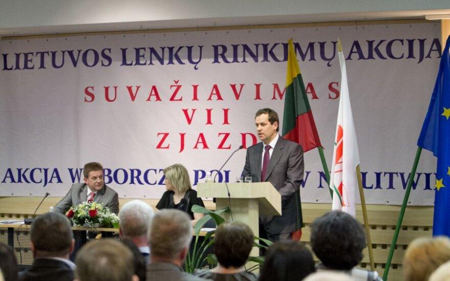 Lietuvos lenkų rinkimų akcija (LLRA) - ant ribos