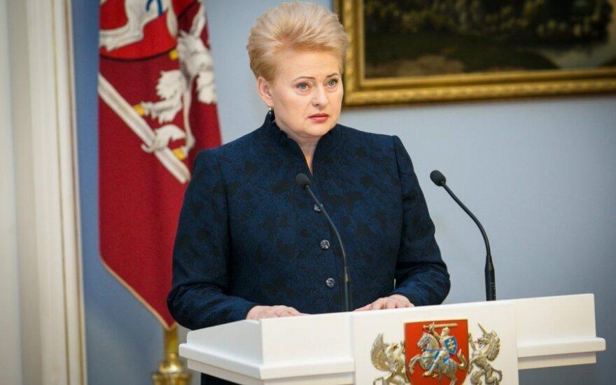 D. Grybauskaitė atidaro atsakingo verslo konferenciją