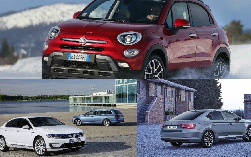 Lietuviai graibsto naujus automobilius: lyderis išlieka tas pats