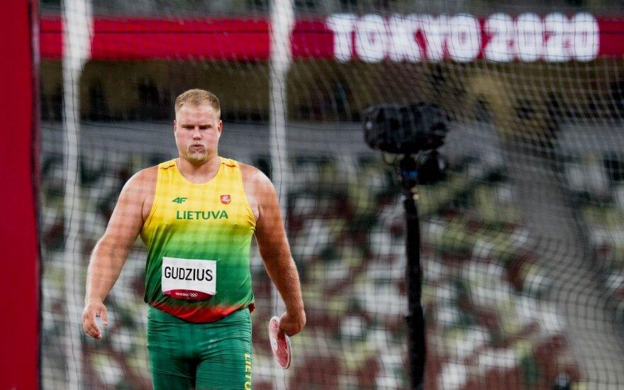Lietuva – vis dar be medalio: olimpinių vilčių Tokijuje nepateisino ir disko metikas Gudžius