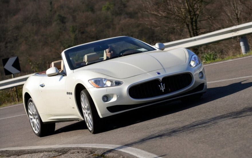 """10 įdomių faktų, kurių nežinojote apie """"Maserati"""""""