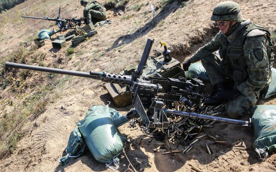 Weapons deals up capacity of Lithuanian army to new level