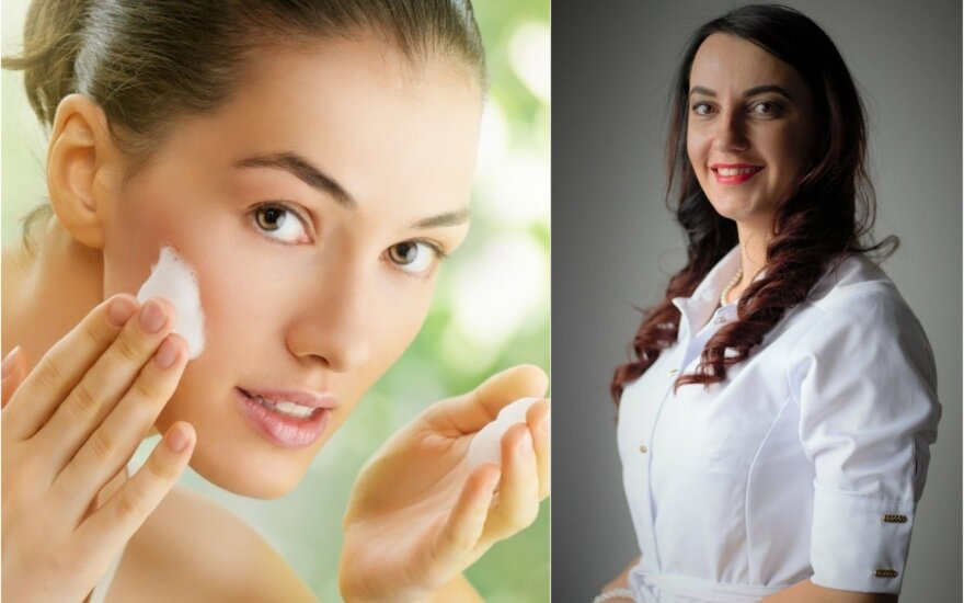 Gydytoja dermatologė Lina Mikalauskienė