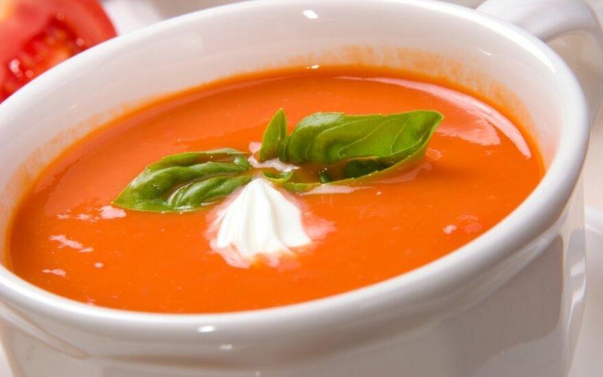 Pomidorų <em>šaltsriubė</em>