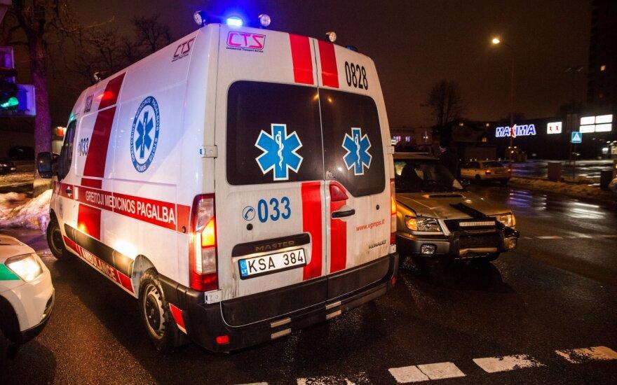 Klaipėdos rajone automobiliu partrenktas vyras mirė ligoninėje