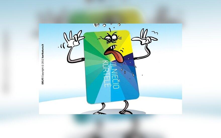 Vilniečio kortelė – pavojus vaikams ir senukams