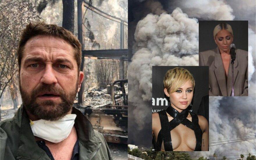 Gerard Butler, Miley Cyrus, Lady Gaga