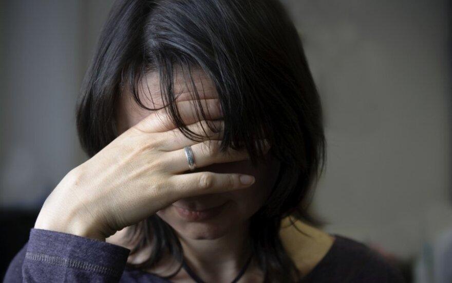 Lietuvoje smurtas šeimoje - itin opi problema