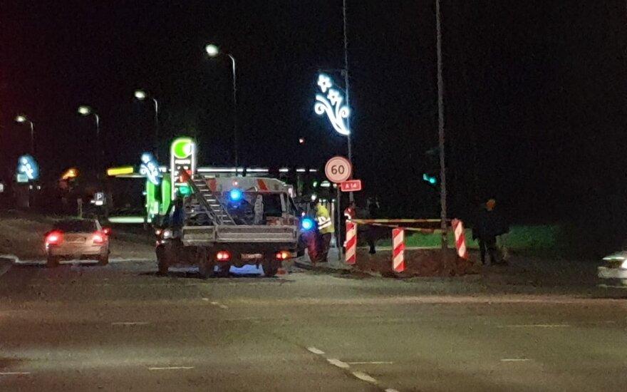 Vilniuje sunkvežimis partrenkė berniuką