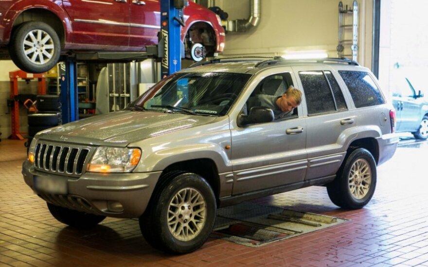 Jeep Grand Cherokee patikra