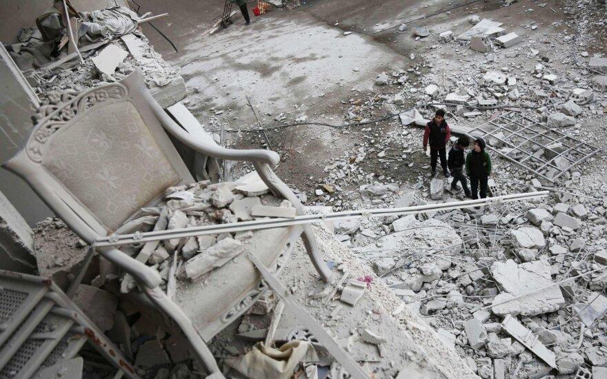 Sirijoje žuvo amerikiečių ir britų kariai
