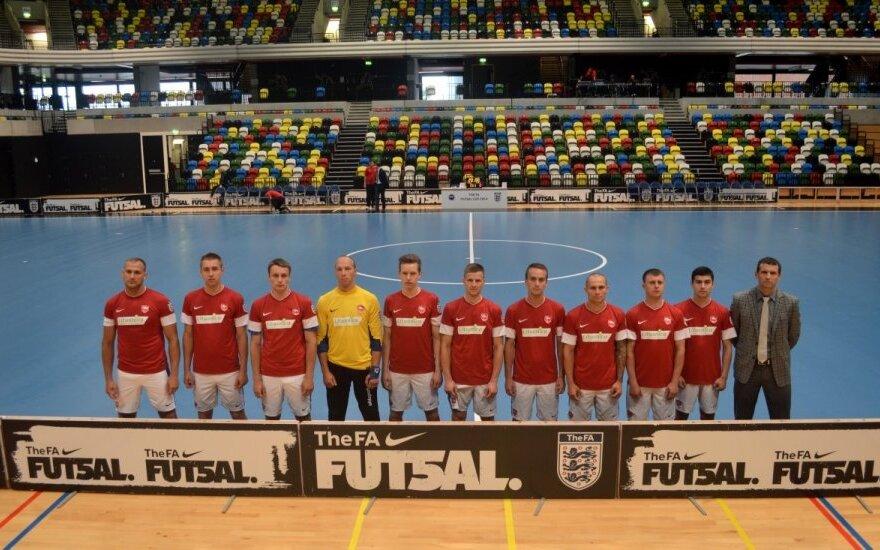 """""""Kaunas FC"""" futbolininkai"""