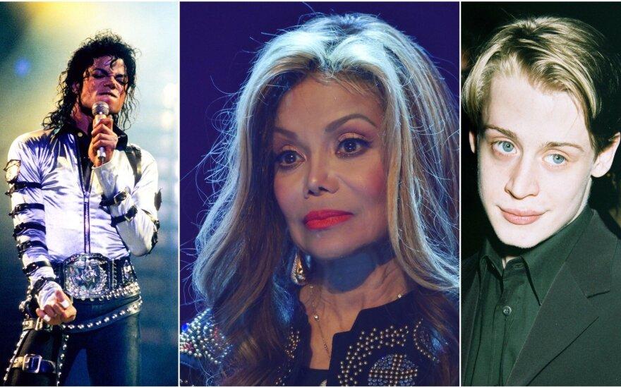 Michaelis Jacksonas, La Toya Jackson ir Macaulay Culkinas