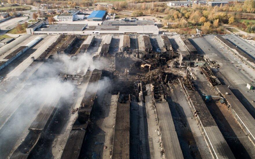 PAGD nesutinka su profsąjunga, kad gaisras Alytuje gesintas netinkamai