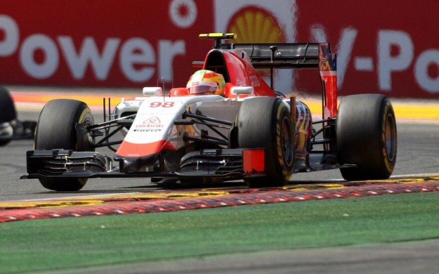 "Oficialu: ""Manor"" ekipoje A. Rossi keičia R. Merhį"