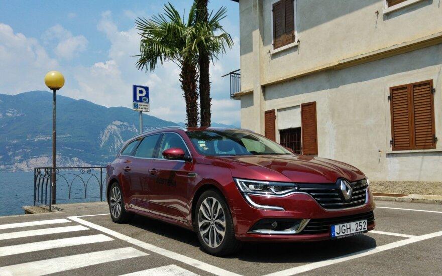 """Su šiuo """"Renault Talisman Grandtour"""" įveikėme 6 tūkst. km"""
